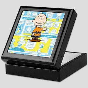 Charlie Brown Comic Strip Keepsake Box