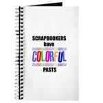 Scrapbookers Have Colorful Pa Journal