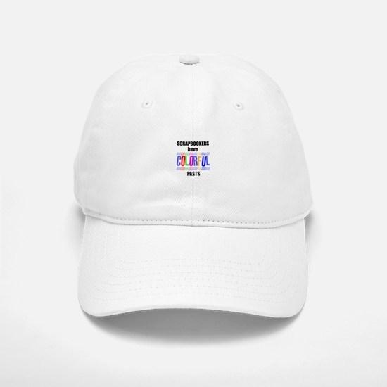 Scrapbookers Have Colorful Pa Baseball Baseball Cap