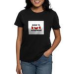 Born To Scrapbook Women's Dark T-Shirt