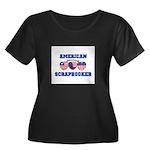 American Scrapbooker Women's Plus Size Scoop Neck