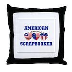 American Scrapbooker Throw Pillow
