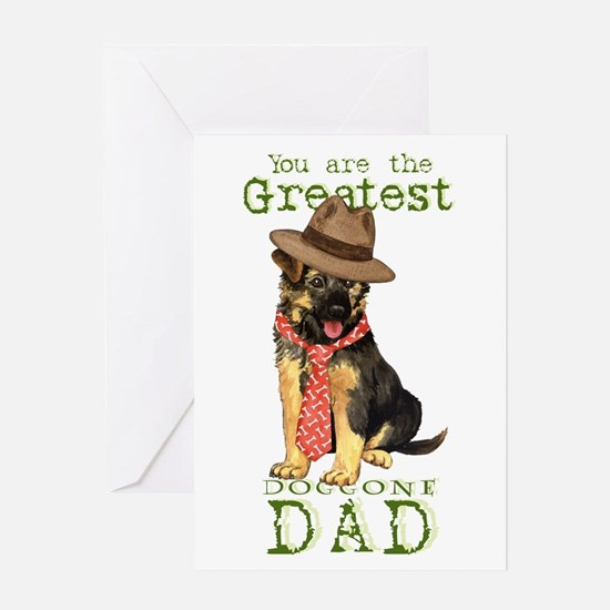 GSD Father's Day Greeting Card