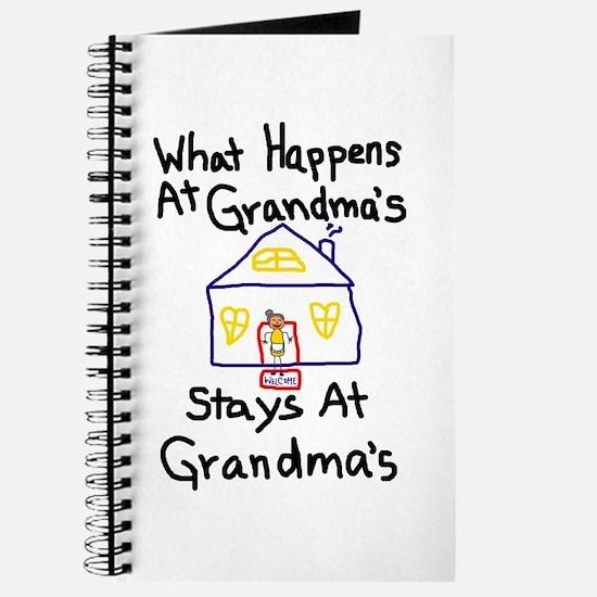 Grandma's House Journal