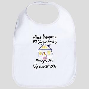 Grandma's House Bib
