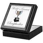 World's Greatest Scrapbooker Keepsake Box