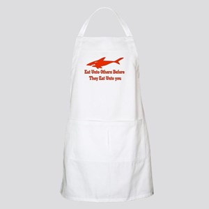 Golden Shark Rule BBQ Apron