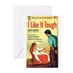 "Greeting (10)-""I Like It Tough"""