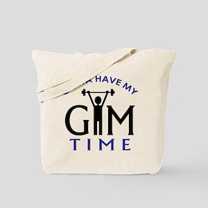 Gym Time Tote Bag
