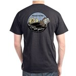 Sea Otter Savvy Dark On Back T-Shirt