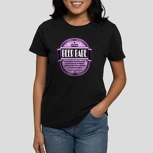 Purple Beer Babe Women's Dark T-Shirt
