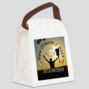 Till the break of day with the P- Canvas Lunch Bag