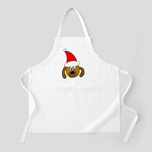 Christmas Dog BBQ Apron