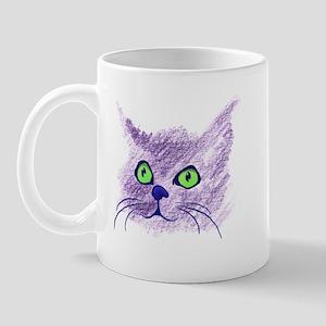 Fuzzy Cat Mug