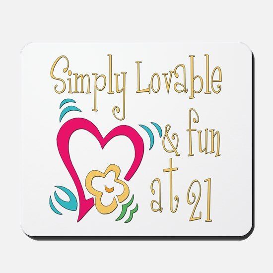Lovable 21st Mousepad