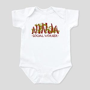 Dragon Ninja Social Worker Infant Bodysuit