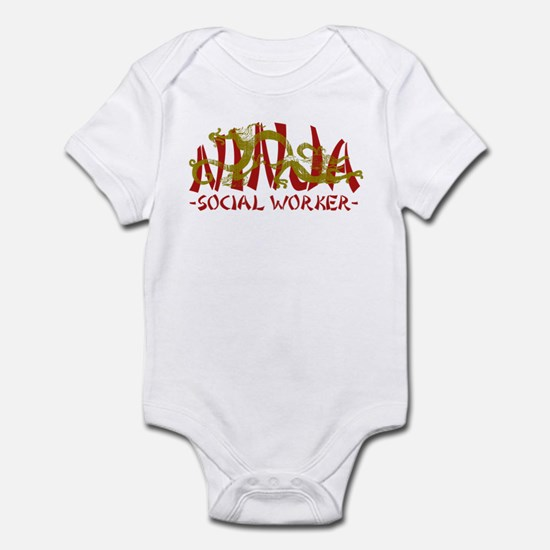Dragon Ninja Social Worker Infant Bodysuit