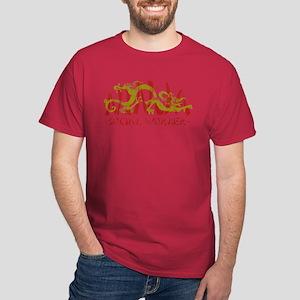 Dragon Ninja Social Worker Dark T-Shirt