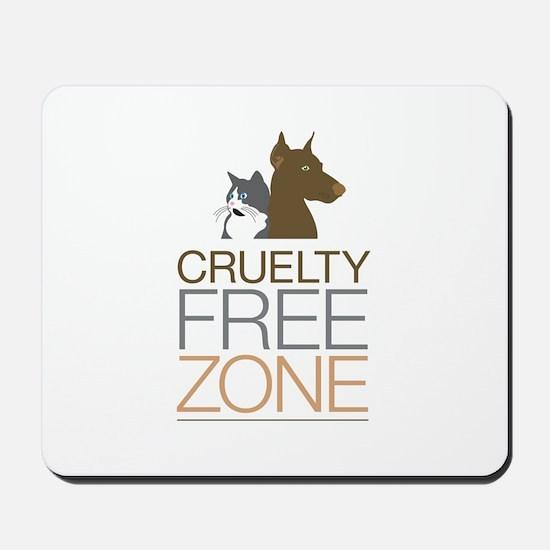 No Animal Cruelty Mousepad