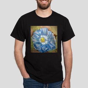 Blue Poppy Dark T-Shirt