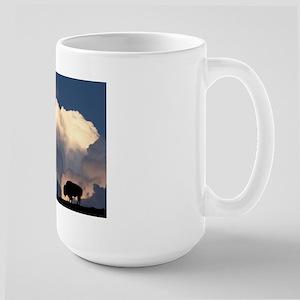 Bison Island Large Mug