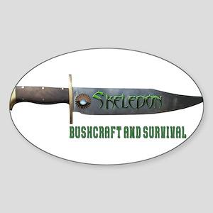 Skeledon Bushcraft and Survival Sticker