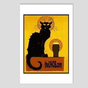 Piss Artists: Le Beer Noir black cat postcards (8)