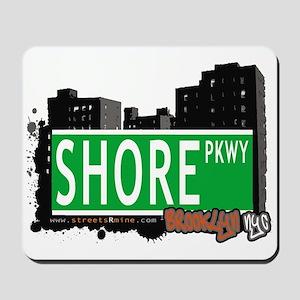 SHORE PKWY, BROOKLYN, NYC Mousepad