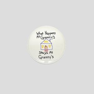 Granny's House Mini Button