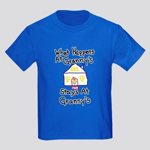Granny's House Kids Dark T-Shirt