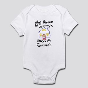 Granny's House Infant Bodysuit