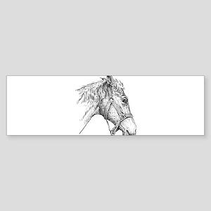 i love horse Bumper Sticker