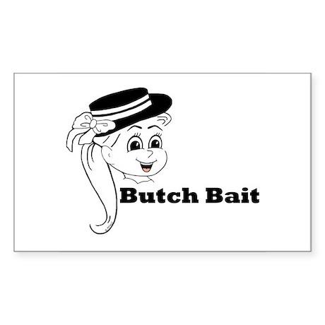 Honey Butch Bait Rectangle Sticker