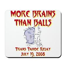 More Brains Than Balls Mousepad