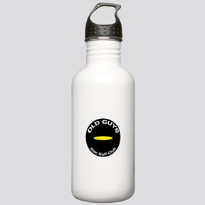 Old Guys Disc Golf Club Water Bottle