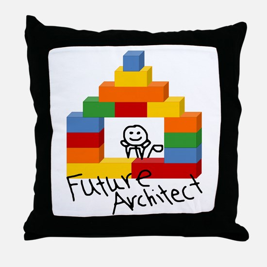 Future Architect Throw Pillow