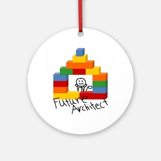 Future Architect Ornament (Round)
