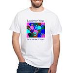 Laughter Yoga Fun Unisex Blue T-Shirt
