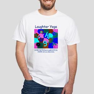 Laughter Yoga Laugh/Snore Blue Unisex T-Shirt