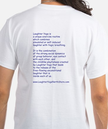 Laughter Yoga Laugh/Snore Blue Unisex T-Shirt