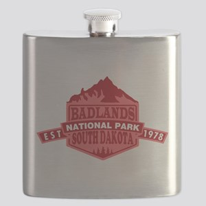 Badlands - South Dakota Flask