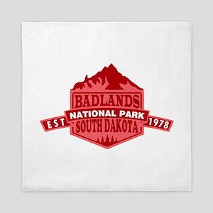 Badlands - South Dakota Queen Duvet