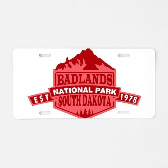 Badlands - South Dakota Aluminum License Plate