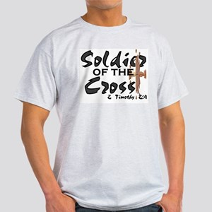 Soldier of The Cross Ash Grey T-Shirt