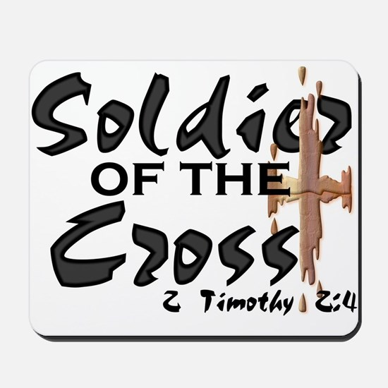 Soldier of The Cross Mousepad