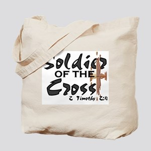 Soldier of The Cross Tote Bag