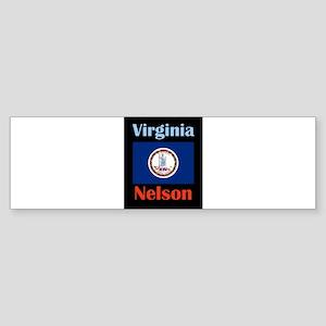 Nelson Virginia Bumper Sticker