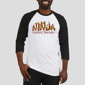 Dragon Ninja Science Teacher Baseball Jersey