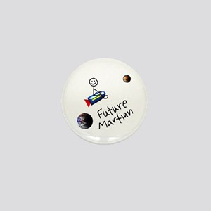 Future Martian Mini Button