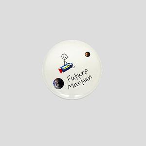 Future Martian Mini Button